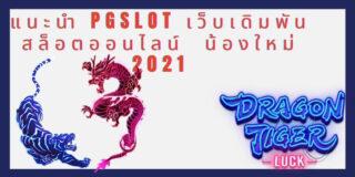 แนะนำ PGSLOT เว็บเดิมพันสล็อตออนไลน์ น้องใหม่ 2021